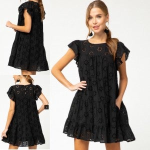 Eyelet Fab Dress