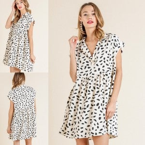 Sell Out Dalmatian Dress