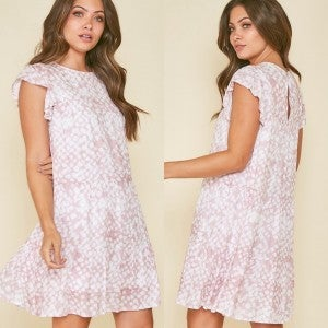 Mauve & Flirty Dress