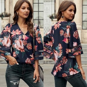 Martinico Floral Blouse