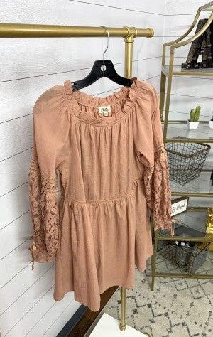 Proposal Lace Sleeve Dress