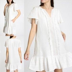 Ruffled Grace Dress