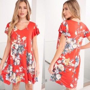 Ft. Lauderdale Floral Dress