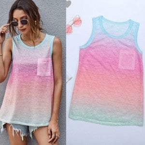 Ombre Party Tank