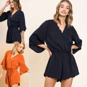 Ladies Who Lunch Romper