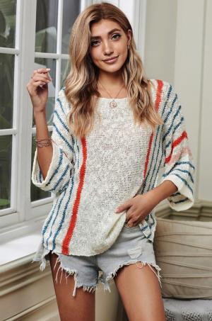 Karlie Open Knit Sweater