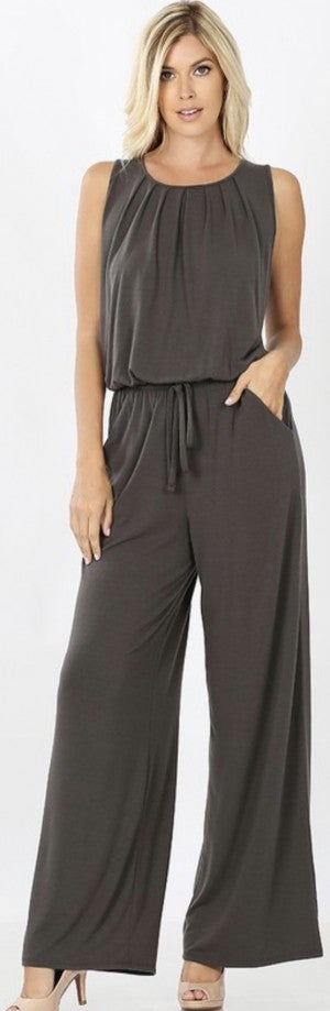 Gray Skies Jumpsuit