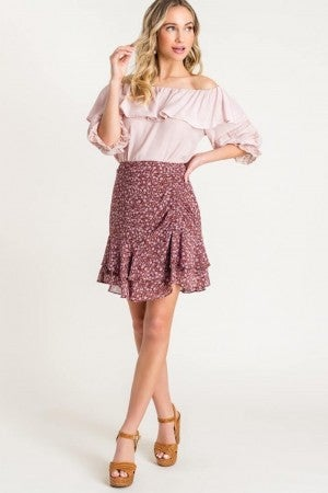 Touched Ruffle Mini