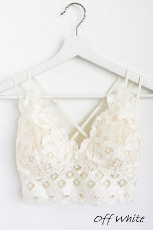 Lace Bralette *Final Sale*