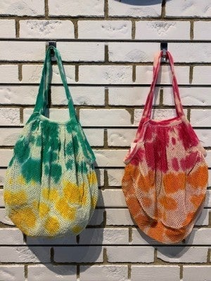 Tie Dye Mesh Bags