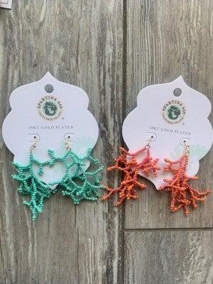 CoralReef Earrings