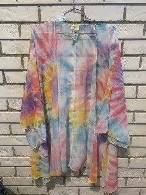 Summer Tie Dye Kimono