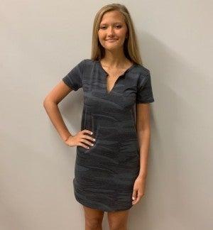 Gray Camo Dress