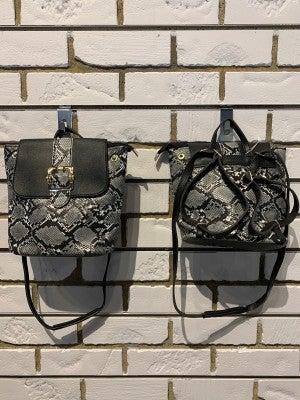 Snake Crossbody/Backpack *Final Sale*