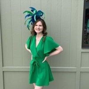 Green Tie Dress