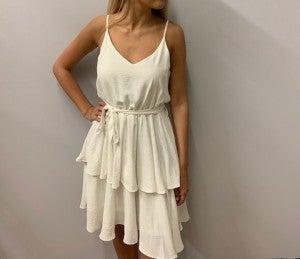 White Tier Dress