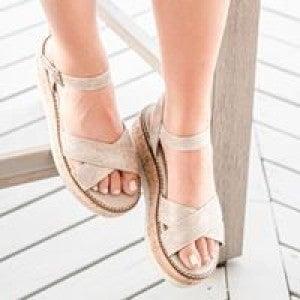 Fluffie Platform Sandal