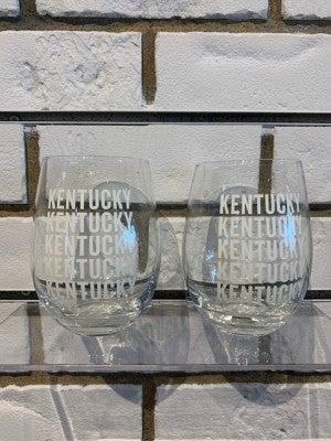 KY wine Glas