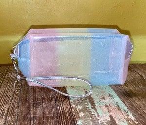 Jelly makeup bag