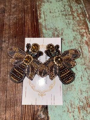 Bees Knees earrings