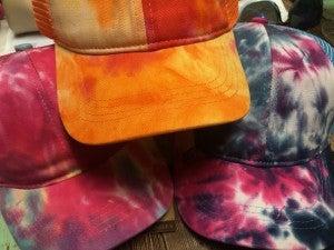 Tie Dye Caps