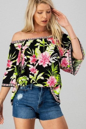 All About the Tropics Top