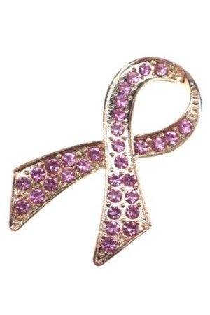 Pink Ribbon Brooch Pin