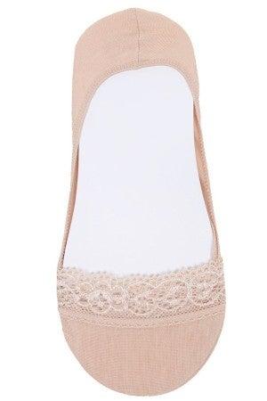 Lace Point Sock ~ Tina