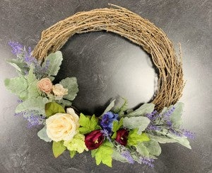 Floral Wreath making March 7th 3-5 pm