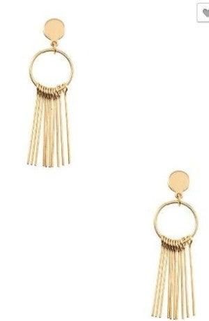 Golden Fringe Earrings