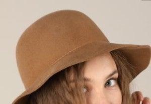 Woolie wide Brim Hat-Pecan