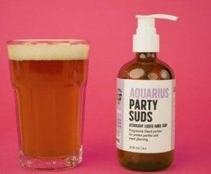 Aquarius Party Suds Liquid Hand Soap