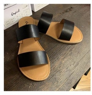 Strapped sandal