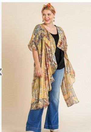 Honey Paisley Kimono