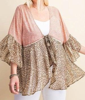 Lovely Leopard Cardi *Final Sale*