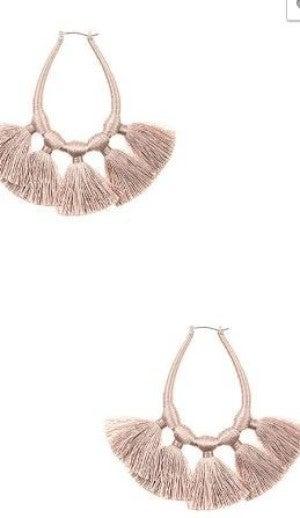 WOW Tassel Earrings