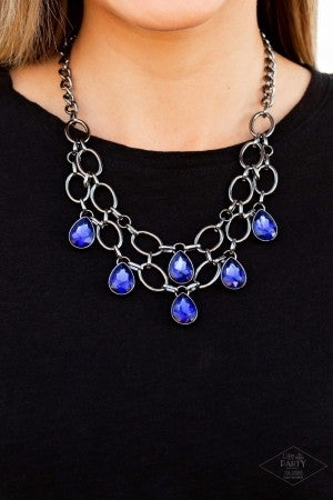 Show-Stopping Shimmer - Blue