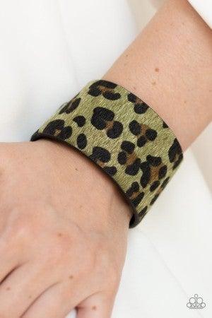 Cheetah Cabana - Green
