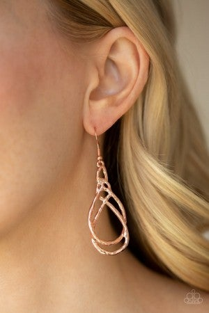 Twisted Elegance - Copper