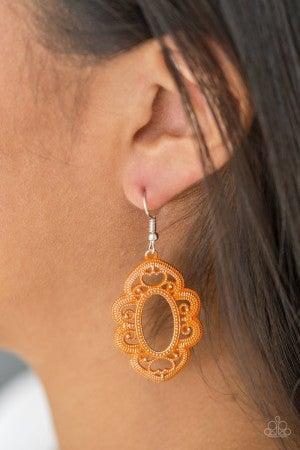 Mantras and Mandalas - Orange