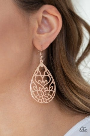 Lovely Lotus - Rose Gold