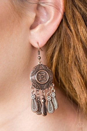 Whimsical Wind Chimes - Copper