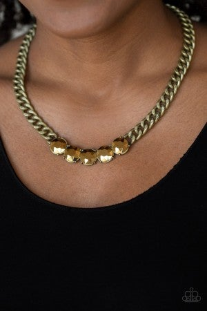 Rhinestone Renegade - Brass