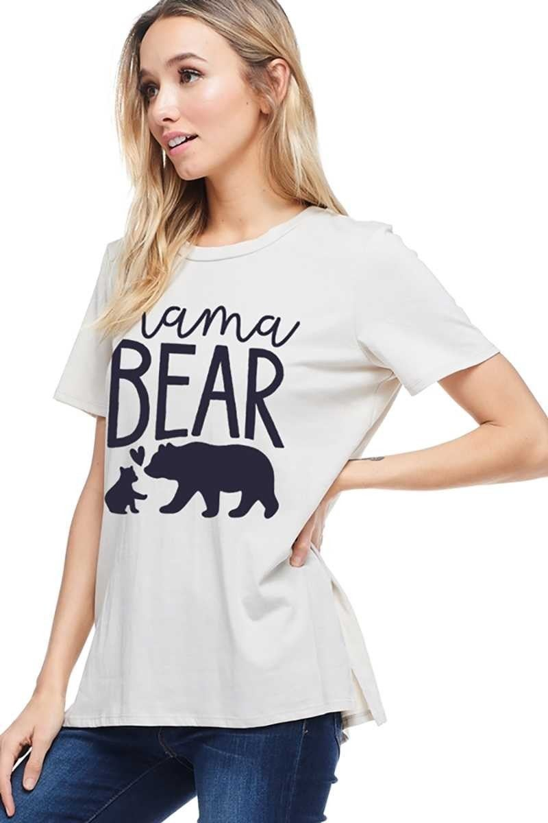 MAMA BEAR GRAPHIC TOP