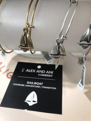 Alex and Ani Sailboat