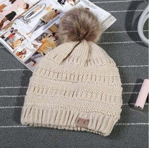 Mountain Moves Knit PomPom Beanie