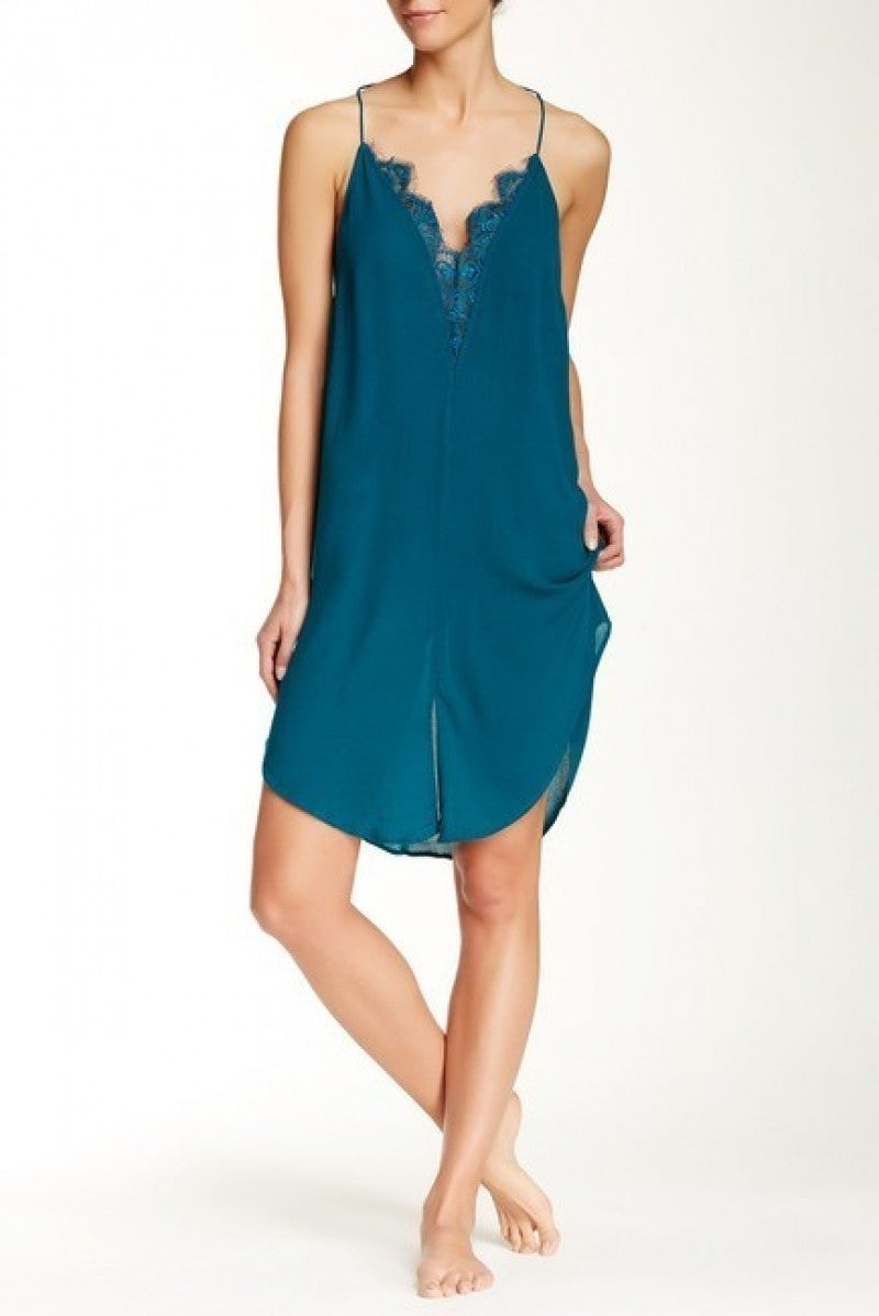 Free People Parisian Night Slip Dress