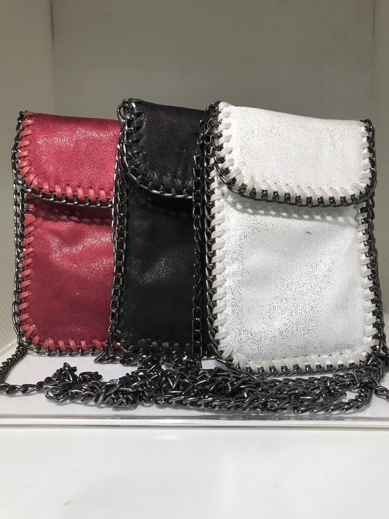 Chained Crossbody Cellphone Pouch