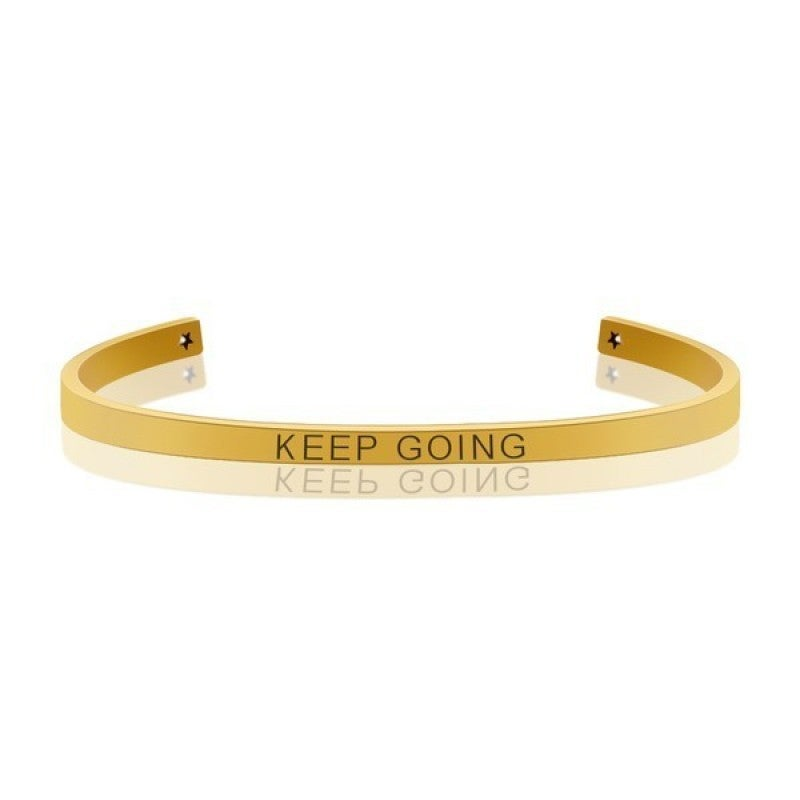 KEEP GOING  MANTRA BANGLE