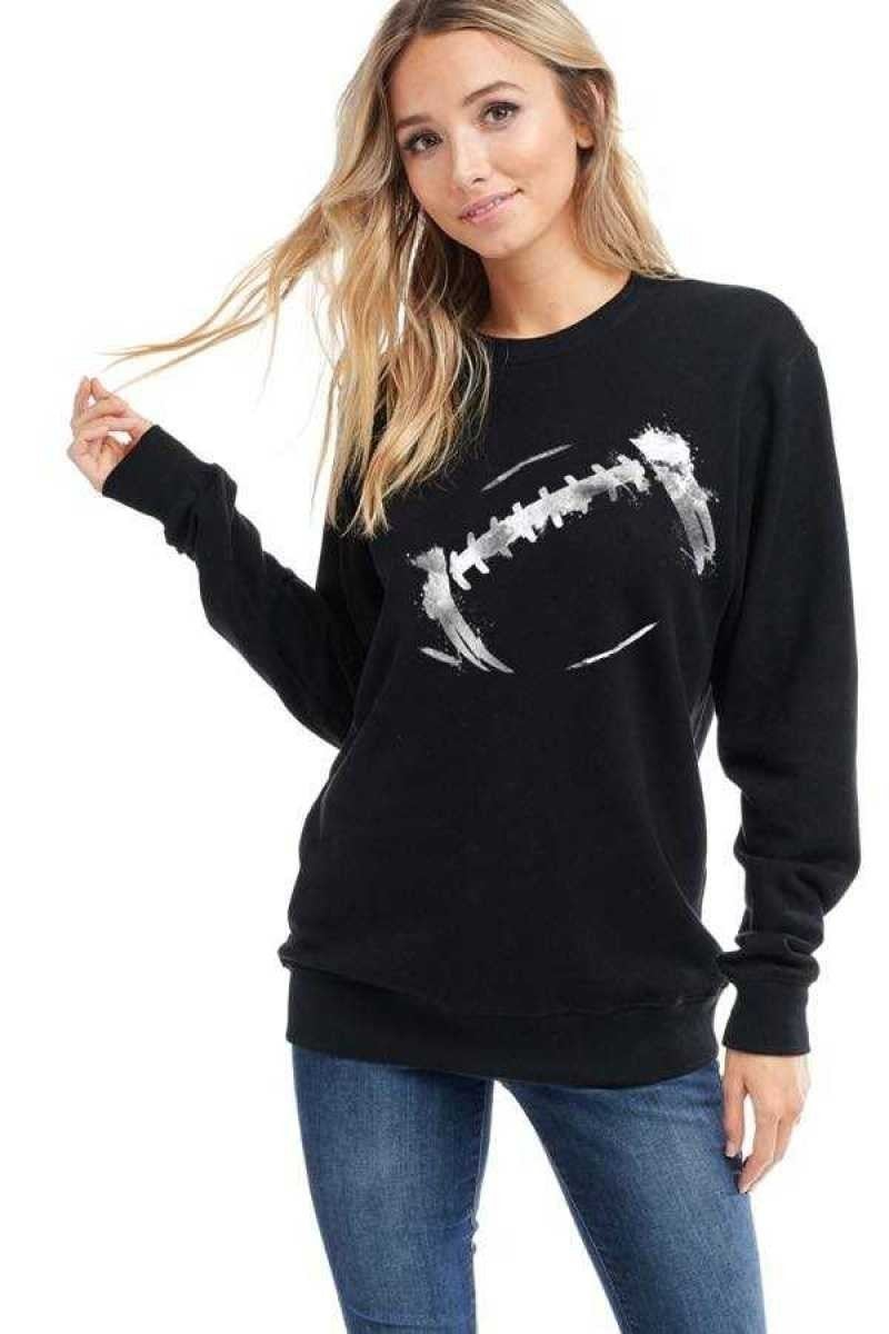 FOOTBALL GRAPHIC FRENCH TERRY SWEATSHIRT